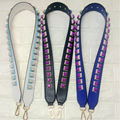 Fashion good quality colorful rivets handbags belts women bags strap women bag accessory bags parts pu leather bag strap