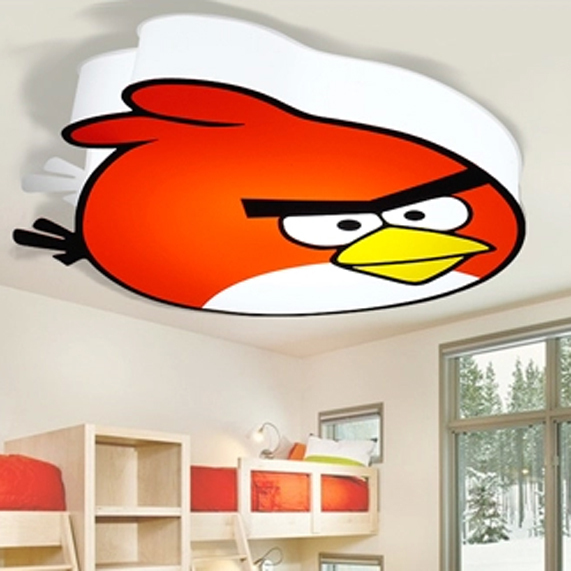 Modern LED Bird Ceiling Lights Fixture Children Ceiling Lighting Kids Room Bedroom Living Room Home Indoor Lighting D52cm H12cm
