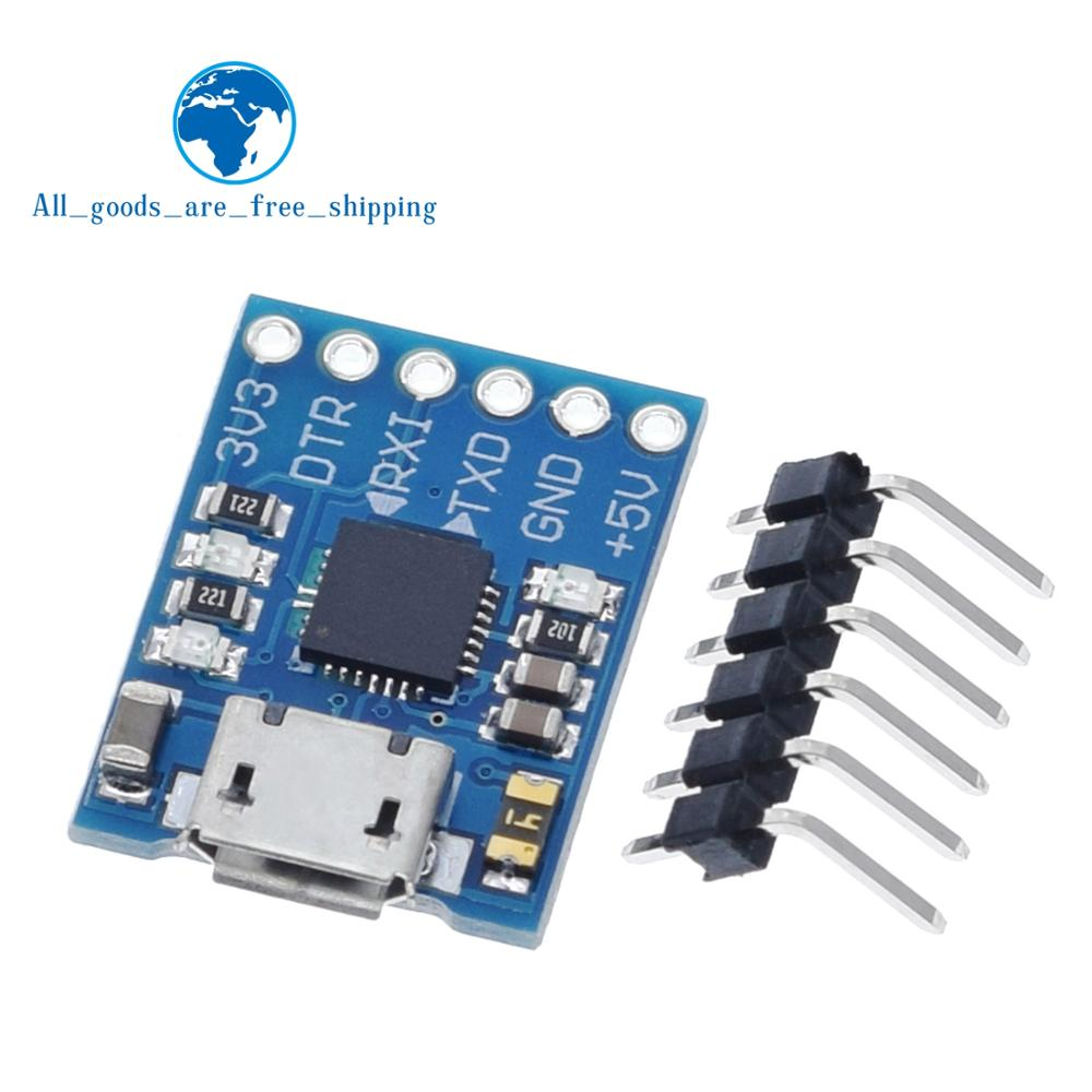 TZT CJMCU CP2102 MICRO USB To UART TTL Module 6Pin Serial Converter UART STC Replace FT232 NEW For Arduino