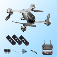 drones with camera hd dron rc helicopter drone 4k toys quadcopter drohne quadrocopter helikopter droni selfie remote control M6