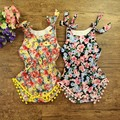 2016Spring SummerRetail baby Romper clothes 100% cotton beautiful Baby Romper ,newborn Romper set,baby girls clothing