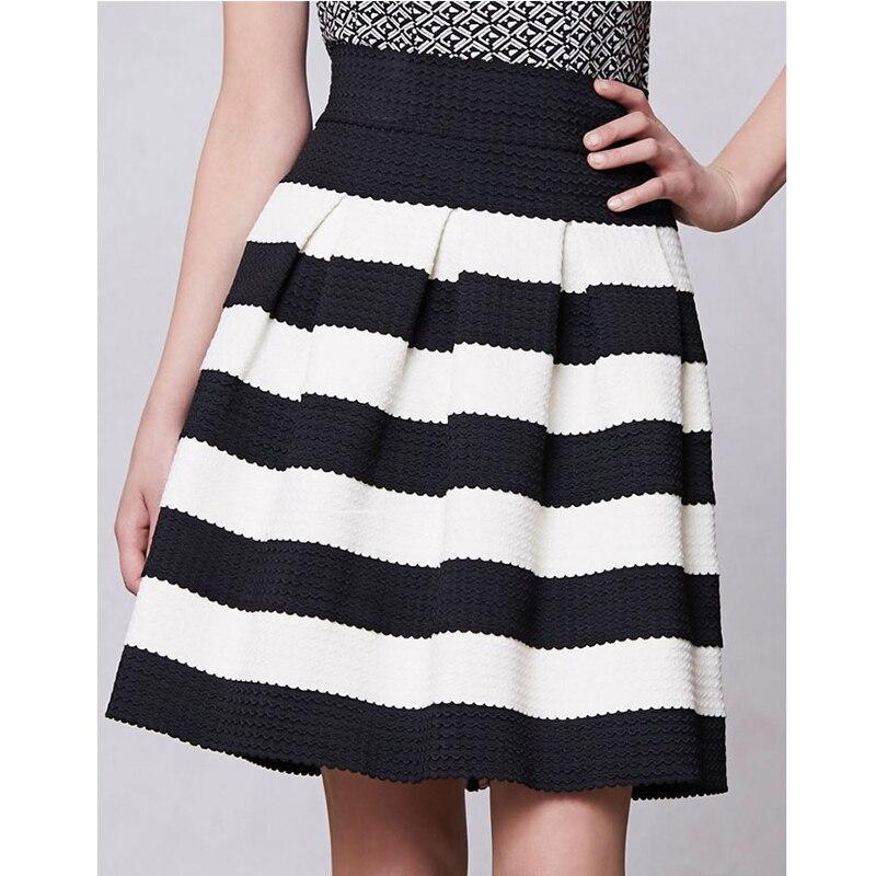 zwart witte rok