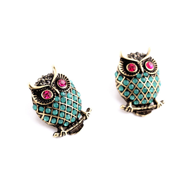 Costume Jewellery High Fashion Designer Brands Fashion Statement Green Owl Earrings  sc 1 st  AliExpress.com & Costume Jewellery High Fashion Designer Brands Fashion Statement ...