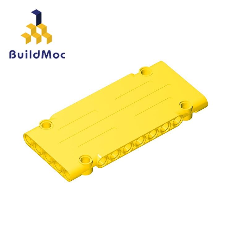 BuildMOC Compatible Assembles Particles 64782 1x5x11 For Building Blocks Parts DIY  Educational Tech Parts Toys