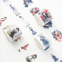 30/40mm*7m kawaii girl series Washi Tape DIY decoration scrapbooking planner masking tape adhesive tape label sticker stationery 1 5cm 7m cute socks washi tape diy decoration scrapbooking planner masking tape adhesive tape kawaii stationery