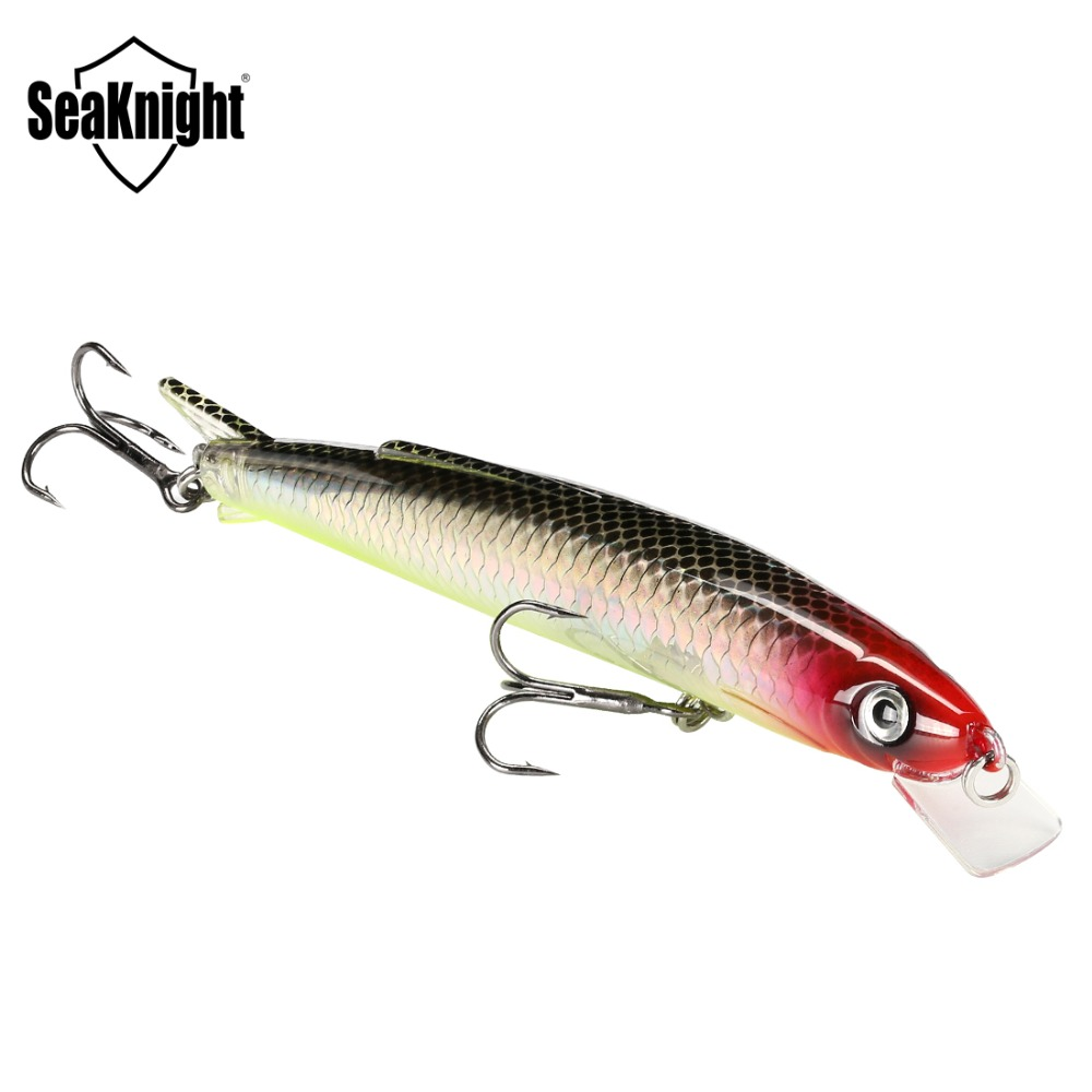 SeaKnight SK005 Minnow 13g 11cm 0.3-0.9M 1PC Floating Fishing Lure Hard Baits Carp Fishing Lures Swim Bait Lake River Fishing