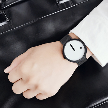 Creative design Dot and Line simple stylish fashion watch for men and women 2