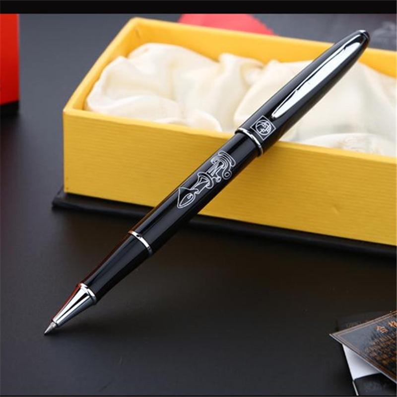 1 шт./лот Бесплатная Доставка Ручек Pimio Пикассо Пикассо 606 Ролика Шариковая Ручка Ролика Ручки 5 Цвета Розовый/Черный Марка ручка 13.6*1.3 см