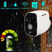 DAYTECH Battery Powered 1080P Wireless IP Camera WiFi 2MP HD Surveillance Camera Waterproof CCTV Indoor Outdoor