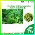 Folhas secas de moringa suplementos alimentares inteiros/cápsulas de moringa atacado 500 mg * 800 pcs