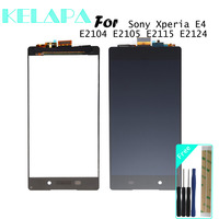 Brand new Tested 5.0'' lcd Display For SONY Xperia E4 E2105 E2104 LCD Touch Screen Digitizer Display For SONY E4 LCD