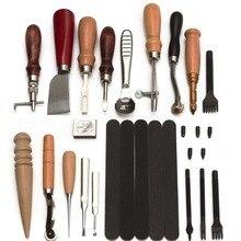 Профессиональный скорейшего брошюр Швейные Шило набор инструментов для кожи паруса и холст капитальный ремонт Прямая доставка