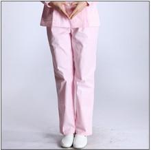 uniformes hospital nursing Nurse Pants White Work Pants Medical Pants Trousers Female 100% Cotton Pink Blue