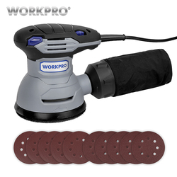WORKPRO 300W Random Sander with Variable Speed