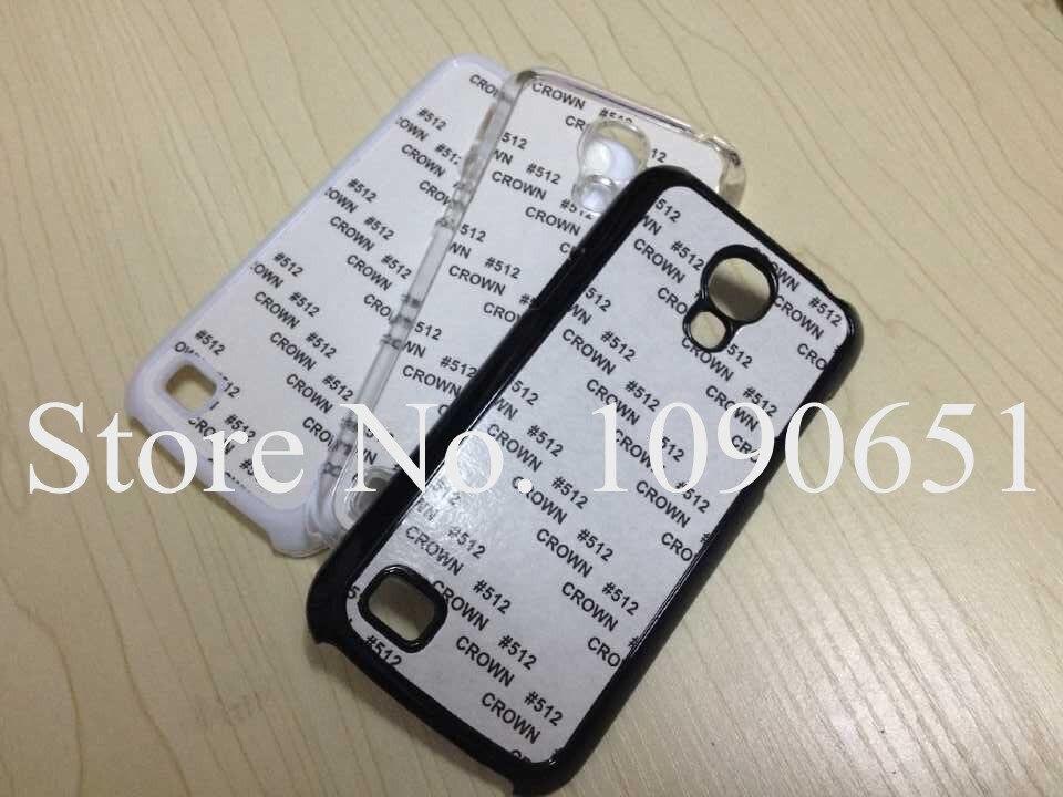 Hot for Samsung Galaxy S4 mini caso 2D Sublimação Plástico em branco Da  Tampa Do Caso com Metal de inserção para Samsung S4 mini 100 pçs lote d2fac228cbcdf