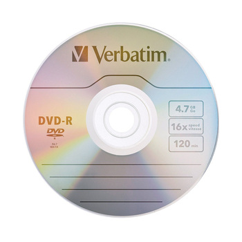 Verbatim DVD Drives 16X 4.7GB DVD-R Blan...