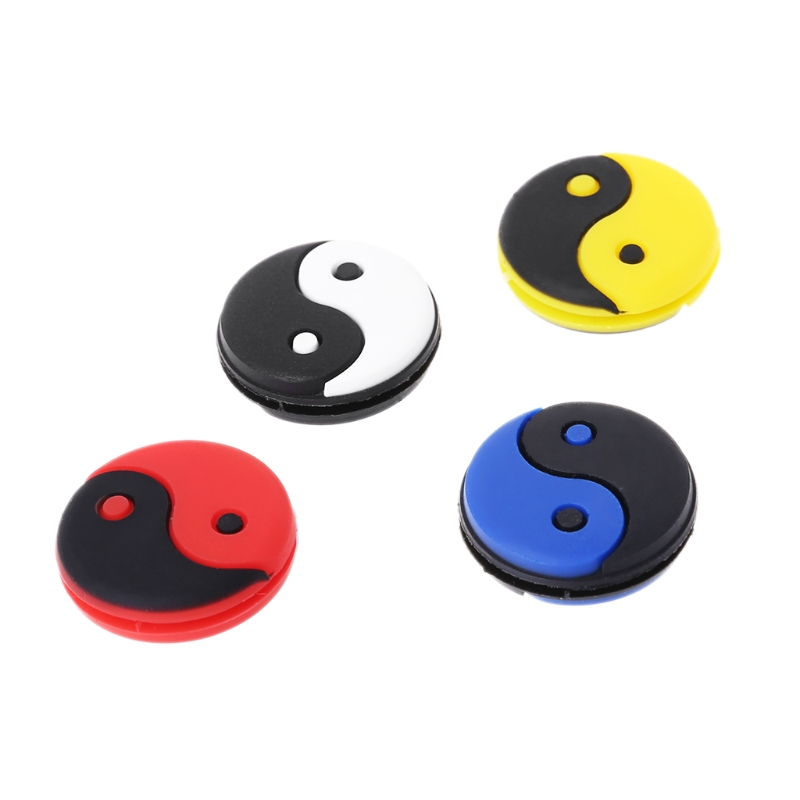 Silicone Tai-chi Shape Tennis Racquets Vibration Absorber Outdoor Sports Supply 'zt