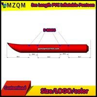 MZQM 3m Length PVC Inflatable Banana Pontoons Tubes Floating For Water Bike