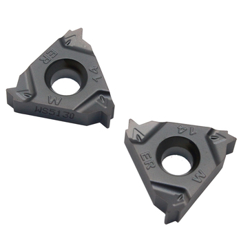 20PCS WS5125 16ER 14W PVD External thread cutting insert CNC lathe carbide turning tool for stainless steel