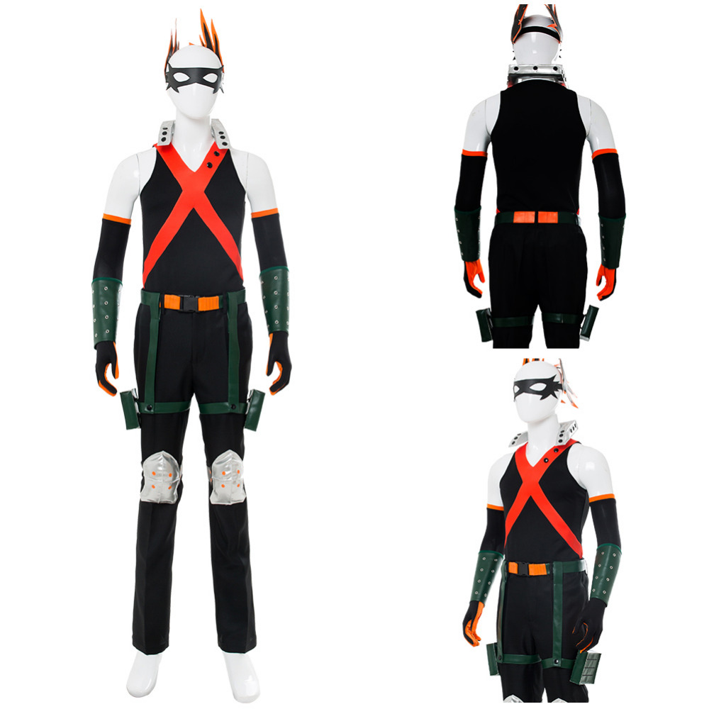 My Hero Academia Cosplay Costume Boku no Hero Academia Katsuki Bakugou Cosplay Costume Outfit Adult Men Halloween Costumes