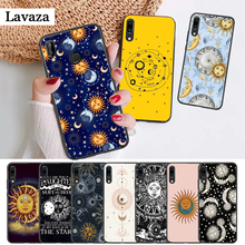 Lavaza Sun Moon Stars Colorful Silicone Case for Huawei P8 Lite 2015 2017 P9 2016 Mimi P10 P20 Pro P Smart Z 2019 P30