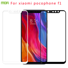 For pocophone f1 Tempered Glass MOFI Full Screen Coverage Tempered Glass Screen Protector Film For xiaomi pocophone f1 mofi for for zte nubia z17s nx595j tempered glass full screen coverage tempered glass screen protector protective film