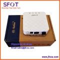 FiberHome Gpon optical network terminal AN5506-01 A mini type, apply to FTTH modes ONU, with 1 internet port, white color