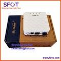 FiberHome Gpon terminal de red óptica AN5506-01 Un mini tipo, se aplica a los modos de FTTH ONU, con 1 puerto de internet, de color blanco
