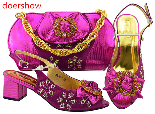 doershow Matching Italian Shoe and Bag Set African Matching Shoes and Bags Italian In Women Nigerian Shoes and bags set !BF1-33doershow Matching Italian Shoe and Bag Set African Matching Shoes and Bags Italian In Women Nigerian Shoes and bags set !BF1-33