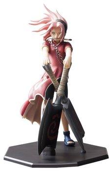 Anime Naruto Figure Haruno Sakura Uchiha Sasuke Fighting AXE 23CM PVC Action Figure Toy Collection Model Gift