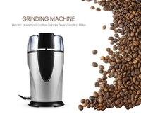 Кофе высокого качества шлифовальный станок электрический 220-240 В Bean шлифовальный станок Moedor De кафе кофемолочная машина для приправ зерна