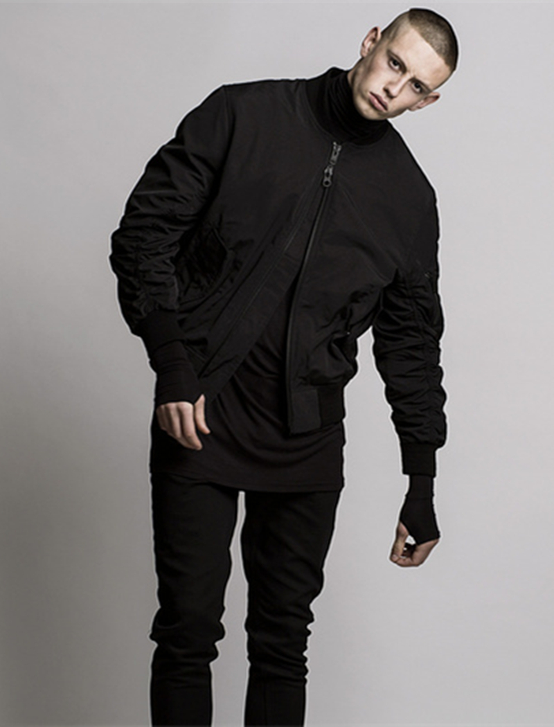 black bomber jacket mens page 1 - fleece