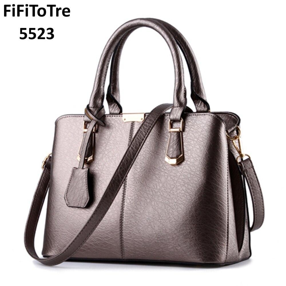 66857aaf66 Hot Sale 2018 New Fashion Big Bag Women Shoulder Messenger Bag Ladies  Handbag bag Famous Brand ...