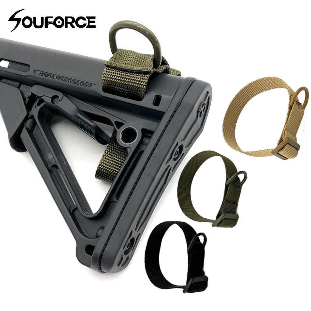 Tactische multifunctionele Gun Rope Militaire Draagbare Strapping Riem voor Shotgun Airsoft Bundel Pistool Riem Jacht