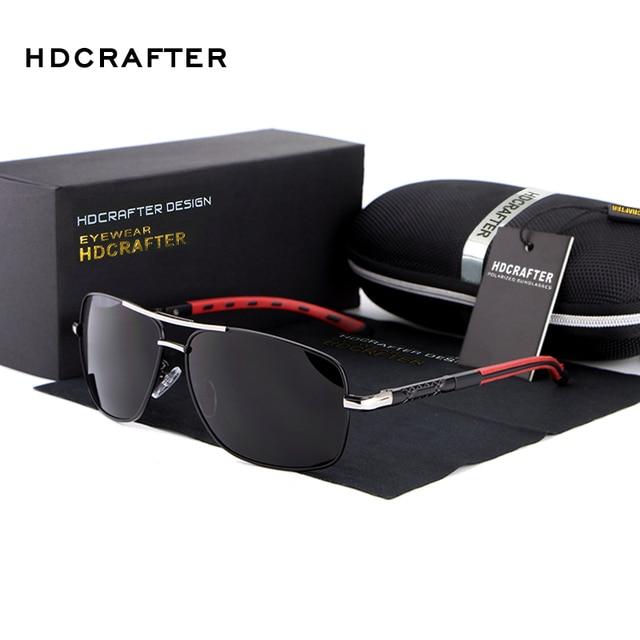 2016 Venta Caliente de La Manera Polarizadas Deportes Al Aire Libre de Los Hombres gafas de Sol de Diseñador de la Marca de Alta Calidad de 3 Colores El Envío Libre