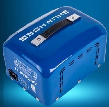 Fast Shipping SH-DB-5000VA 110v to 220v 5000W temperature control Step Down Voltage Converter Transformer Converts copper coil 1pcs lot sh b17 50w 220v to 110v 110v to 220v