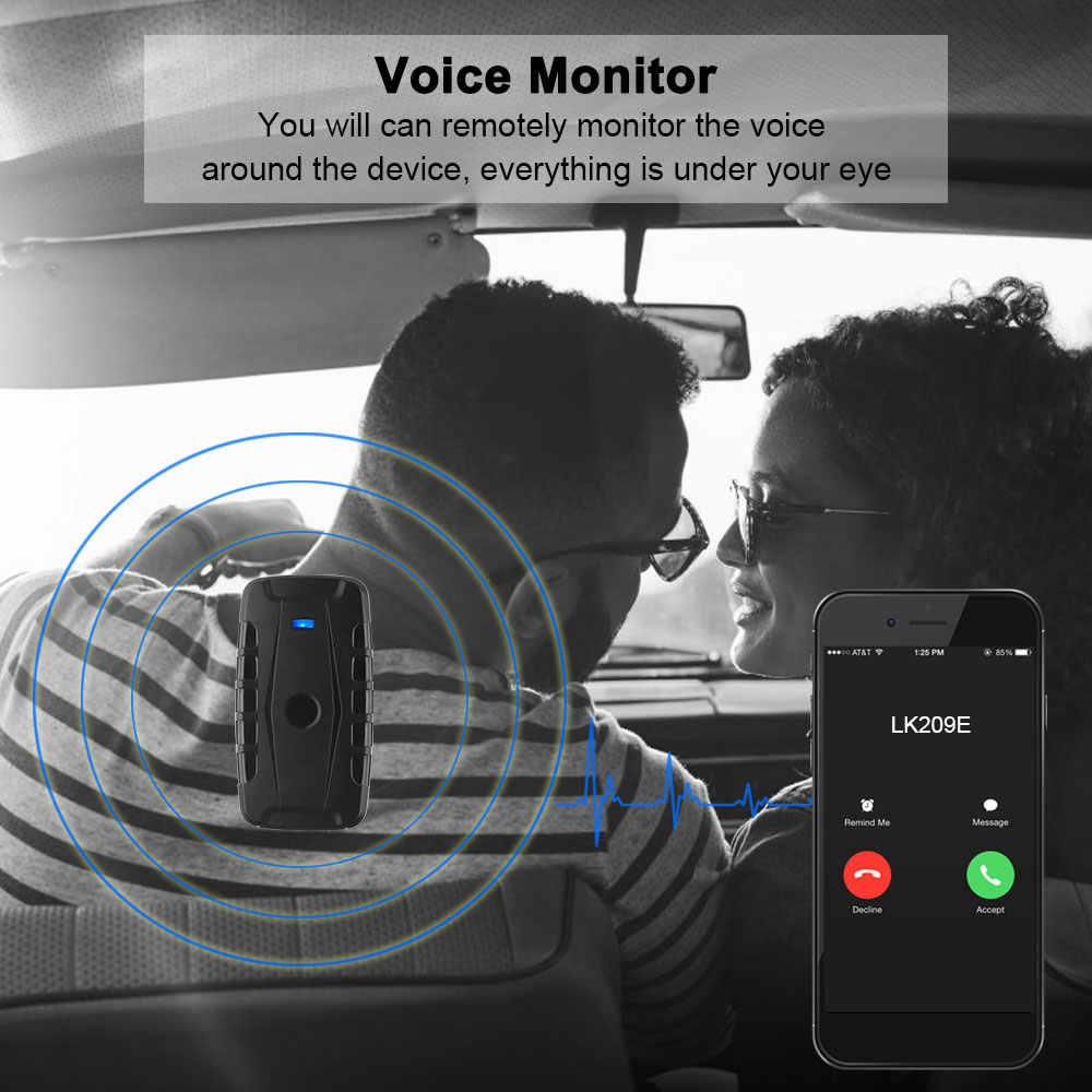 Gps Tracker Rastreador De LK209E Tahan Air Magnet 6000 MAh Mobil Tracker DROP Shock Suara Alarm Monitor Aplikasi Gratis PK Tkstar TK905