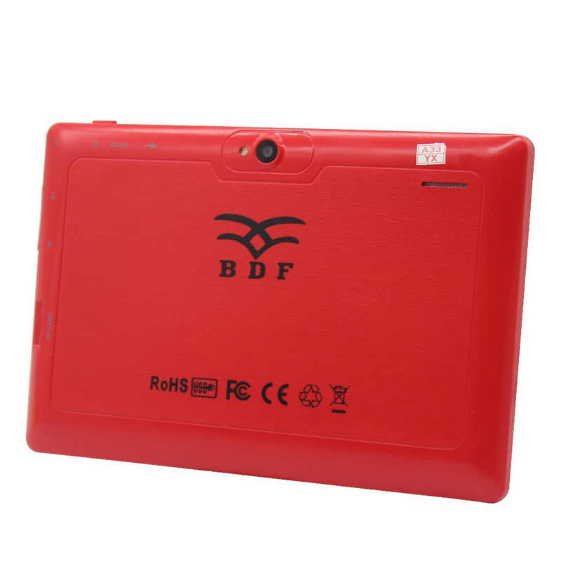 BDF 7 inç çocuklar Tablet Pc Android 4.4 Allwinner A33 dört çekirdekli Bluetooth WiFi çocuk çocuklar BabyPAD Android Tablet 7 8 9 10 10.1