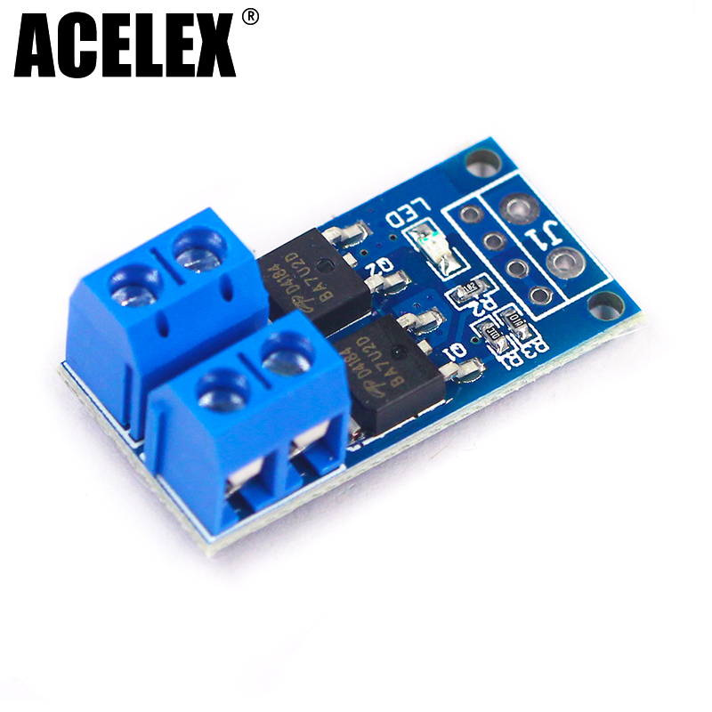 15A 400W MOS FET Trigger Switch Drive Module PWM Regulator Control Panel [vk] aqs221r2sz photomos mos fet relay relays
