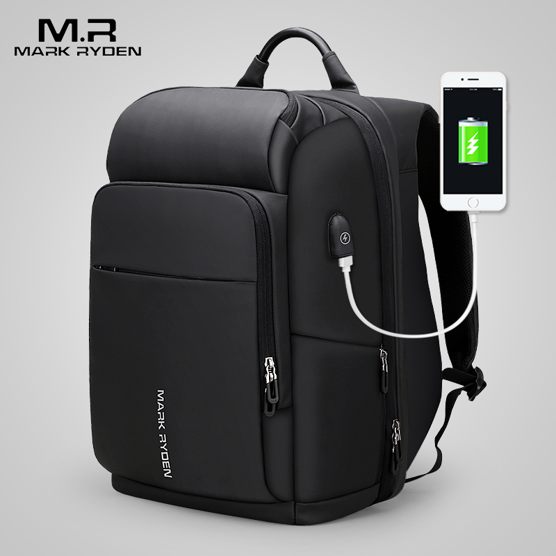 Mark Ryden 15 inch Laptop Backpack For Man Waterproof Functional Bag With USB Port Travel Male