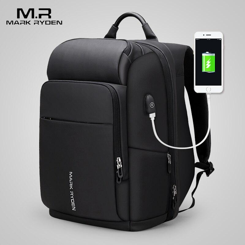 Mark Ryden 15 pouces sac à dos pour ordinateur portable pour homme étanche sac fonctionnel avec Port USB voyage homme sac à dos