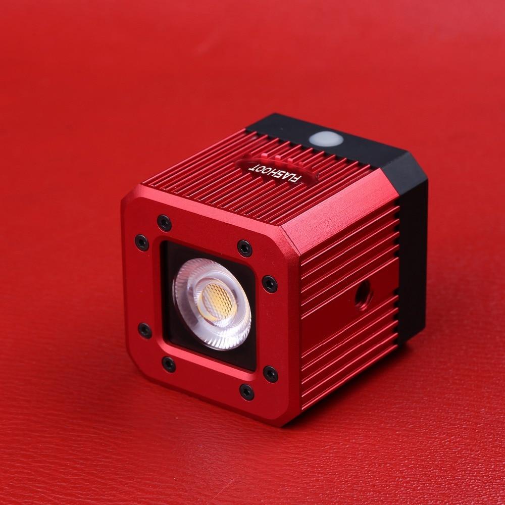 Lampe photographique étanche Camping cyclisme éclairage pour appareils photo DSLR Smartphone cube LED haute luminosité lumière supplémentaire