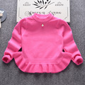 2016 marca as crianças outono roupas das meninas bonitos do bebê da camisola tops princesa macio e confortável em torno do pescoço de cobertura de alta qualidade