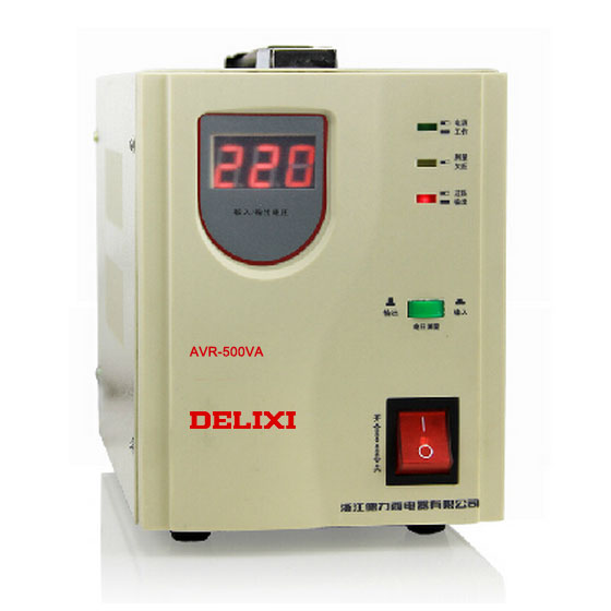 New Delixi voltage stabilizer AVR 500W 0.5KW automatic household AC ...