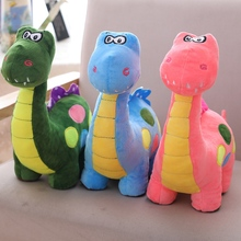 New 1PC 40cm Small Cute Style Simulation Animal Doll Polka Dot Dinosaur Plush Toys Forest  Presents For Kids