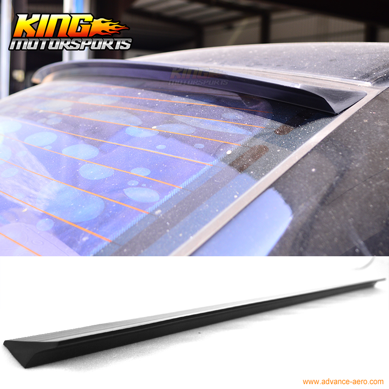 For 2003-2008 Nissan Teana Maxima J31 VRS Style Roof Spoiler Wing Unpainted - PUF for 09 10 11 mazda 6 2nd vrs style roof spoiler wing unpainted puf