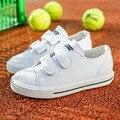 Kids shoes meninas crianças shoes meninos nova primavera 2017 crianças de couro artificial casual shoes couro moda infantil branco shoes