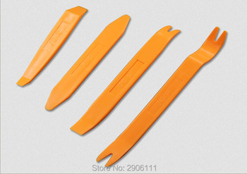 4pcs Car radio dismantling plastic tool kit for BMW e46 e90 e39 f30 f10 e36 e60 x5 e53 f20 e34 accessories car-styling image