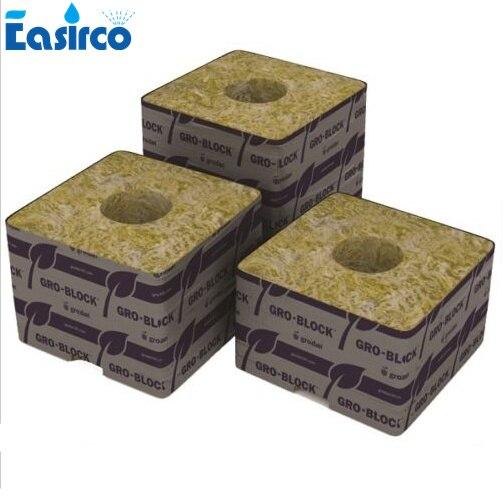 GRODAN Rockwool Cubes Croissance Plantes Propagation Starter Bouchons Hydroponique Media