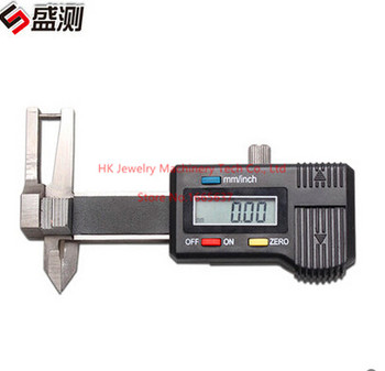 Free Shipping High Quality Jewelry Measuring Tools 0-25mm Electric Digital Micrometer Electronic Digital Readout